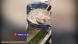 خوردن ماهی زنده در ویتنام