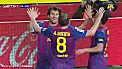 10 گل برتر لیونل مسی به انتخاب هواداران بارسا