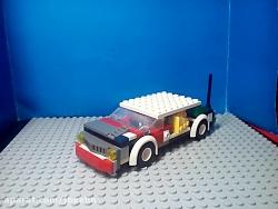 برسی لگو ماشین شولت قدیمی ساخت خودم تقدیم به اقای راوی