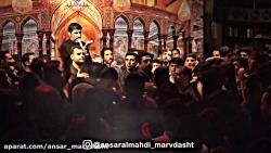 مداحی حاج مدی سلحشور در هیات انصارالمهدی مرودشت