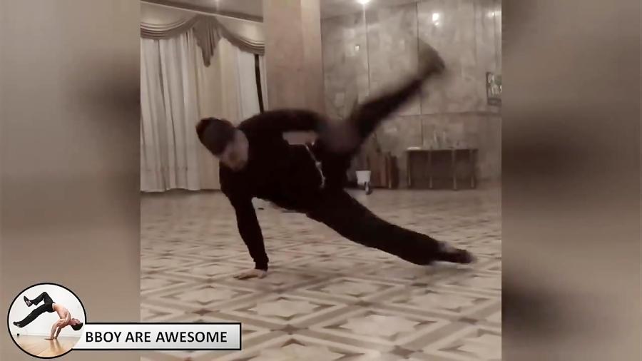 مهارت های جالب و تماشایی Bboy Flygim