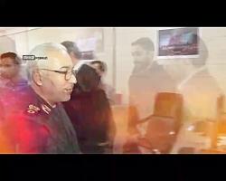 فیلم/ بازدید سردار عامری از خبرگزاری دفاع مقدس