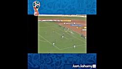 تمامی گل های ایران در جام های جهانی 1978، 1998، 2006، 2018،2014