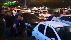 واکنش مردم البرز به اغتشاشات اشرار پس از گرانی بنزین