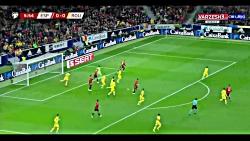 گل ها و خلاصه بازی اسپانیا 5 - رومانی 0