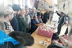 امداد رسانی اهالی کوجووار به زلزله زدگان آذربایجان