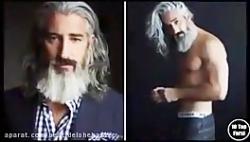 خوشتیپ ترین پیرمرد دنیا