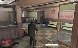 شورش در شهر -دزدی از بانک