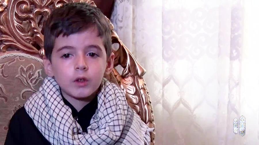 فیلم اختصاصی از گفت وگو با پسر شهید مدافع امنیت