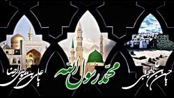 کلیپ   مراسم عزاداری رحلت نبی مکرم اسلام، شهادت امام حسن مجتبی(ع) و امام رضا(ع)