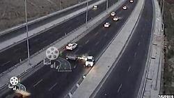تصادفات خفن در تهران (تصاویر واقعی)