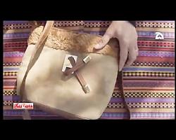 چگونه کیف های کهنه را با خز نو و تزئین کنیم؟_آموزش تصویری