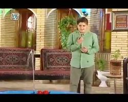 دکلمه خوانی علی شاه حسینی در شبکه کرمان