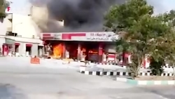 تخریب اموال عمومی توسط اشرار و آشوبگران در شیراز
