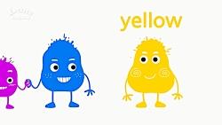 آموزش انگلیسی کودک ، رنگ ها
