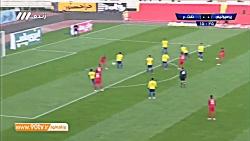 خلاصه لیگ برتر ایران: پرسپولیس 0-1 نفت مسجد سلیمان