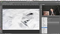 افزودن جلوه های رنگی و تلفیق دو لایه در فوتوشاپ