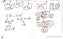 رسم ساختارهای پیچیده لوویس (شیمی کنکور)بازهم شیرین وساده(شیمی دهم)