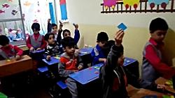 بازی آموزشی مونته سوری - کلاس خانم نوقابی