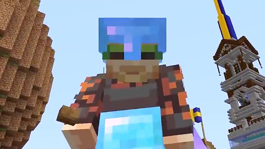 PewDiePie - Minecraft - I Built A Cake Ladder in Minecraft to prove