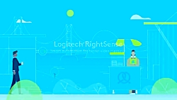 تکنولوژی Logitech RightSense سیستم ویدئو کنفرانس لاجیتک