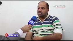 خالی کردن بار در اتوبان امام علی(ع) تهران به روایت راننده کامیون