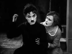 چارلی چاپلین در فیلم زائر (The Pilgrim (1923