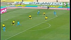 خلاصه بازی سپاهان با پیکان (سپاهان 2 - پیکان 1)