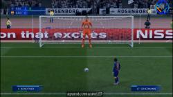 تقابل تیم بارسلونا و تیم غول ها در فیفا 20 :)