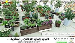 رضایت مشتری از بذرهای خانگی کشاورزی آنلاین