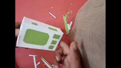 کاردستی جالب دوربین فیلمبرداری با استفاده از کارتن باطله
