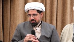 ارائه بحث حجت الاسلام علی شاملو