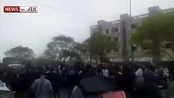 تصاویر دیده نشده از حمله اوباش در اعتراضات اخیر