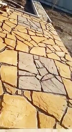 اجرای سنگ لاشه سنگ مالون سنگ ورقه ای ۰۹۱۲۴۰۲۶۵۴۵
