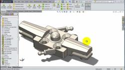 2 SolidWorks -Helicopter-- Blades1 Holder