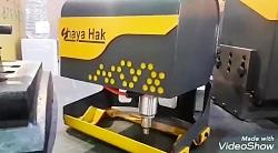 دستگاه حکاکی فلزات / شایا حک در نمایشگاه صنعت اصفهان
