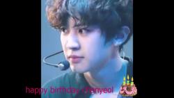 ❤❤happy birthday Chanyeol #
