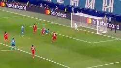 زنیت سنت پترزبورگ 2-0 لیون فرانسه در لیگ قهرمانان اروپا با گلزنی سردار آزمون