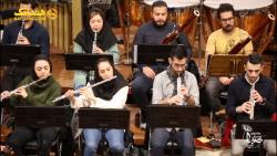 تمرین ارکستر ملی ایران برای اجرا در «شب یادبود پرویز مشکاتیان»