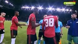 خلاصه بازی منچستر یونایتد ۱-۲ آستانه قزاقستان در لیگ اروپا ۲۰۱۹