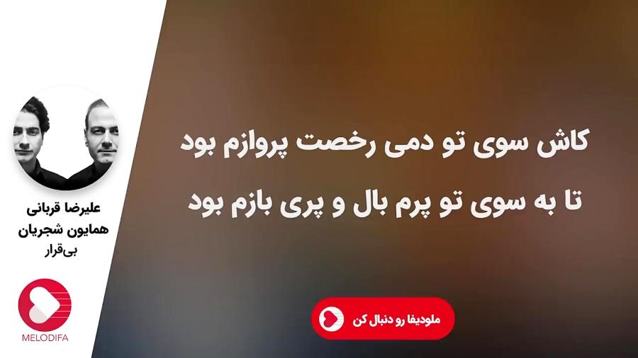موسیقی سنتی همایون شجریان و علیرضا قربانی - بی قرار