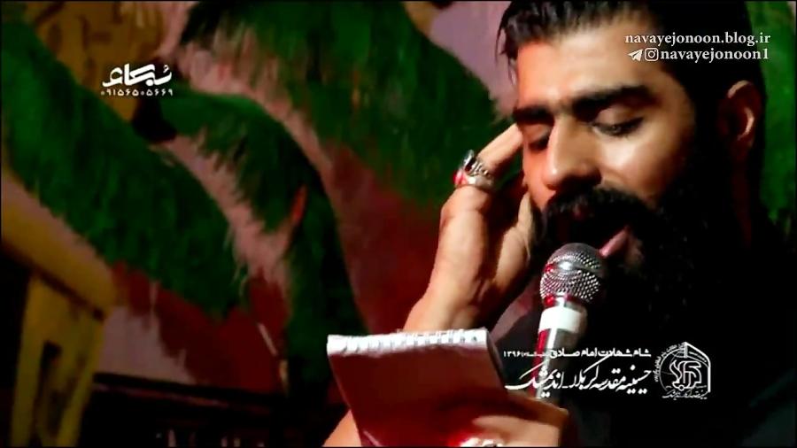 محمود عیدانیان - علم تو سایه ی سرم حسین - بسیارزیبا