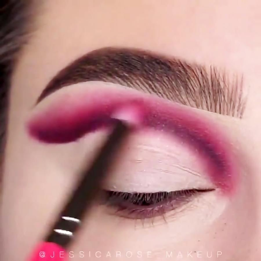 آموزش آرایش چشم سایه چشم خط چشم