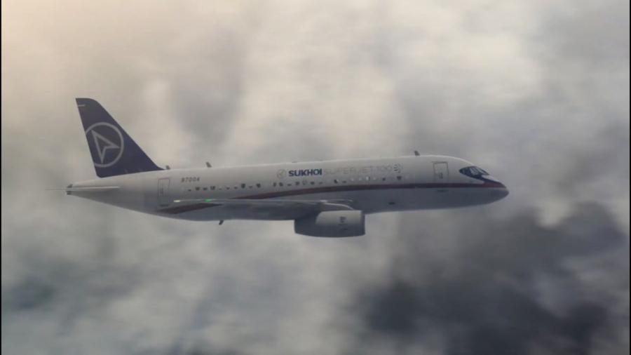 پیام اضطراری - نمایش مرگبار - (سقوط هواپیمای Sukhoi Superjet-100)