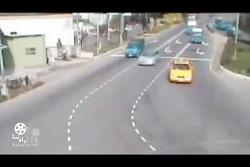 تصادف خطر ناک