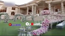 مجلل ترین تالار ایران که به سبک انیمیشن سیندرلا