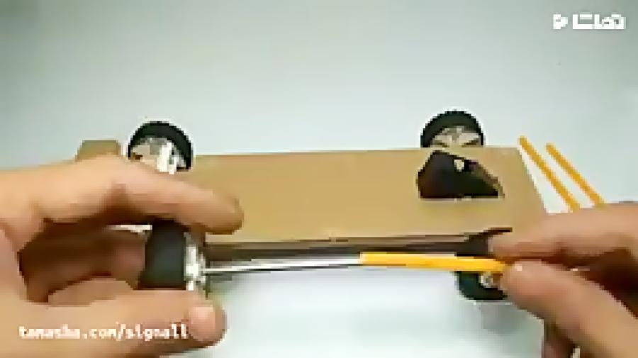 آموزش ساخت ماشین زباله