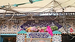 نوحه هندی کنار مقام حضرت علی اکبر ع