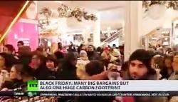 خشونت و کتک کاری در برخی از فروشگاههای آمریکا درآخرین جمعه ماه نوامبر