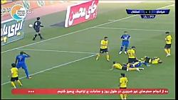 خلاصه بازی سپاهان 2-2 استقلال (لیگ برتر ایران - 1398/99)